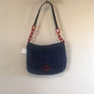Brand New! J Crew Rattan Anchor Bag